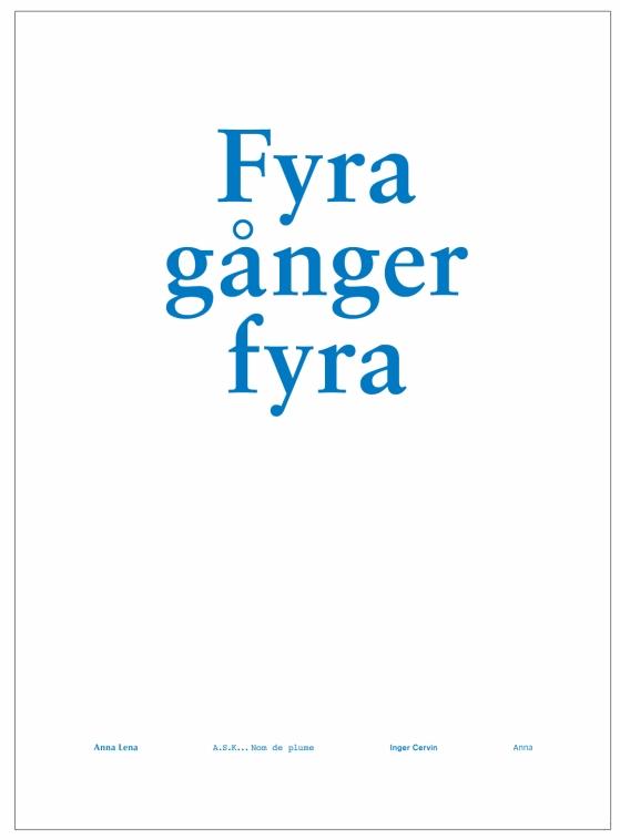 FYRAGÅNGERFYRA-1